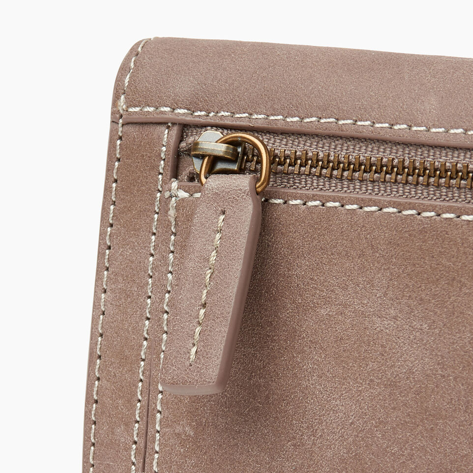 Roots-Leather New Arrivals-Riverdale Slim Wallet-Fawn-D