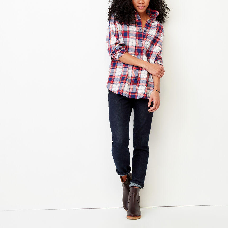 Roots-Women Our Favourite New Arrivals-Alaina Boyfriend Shirt-Lollipop-B