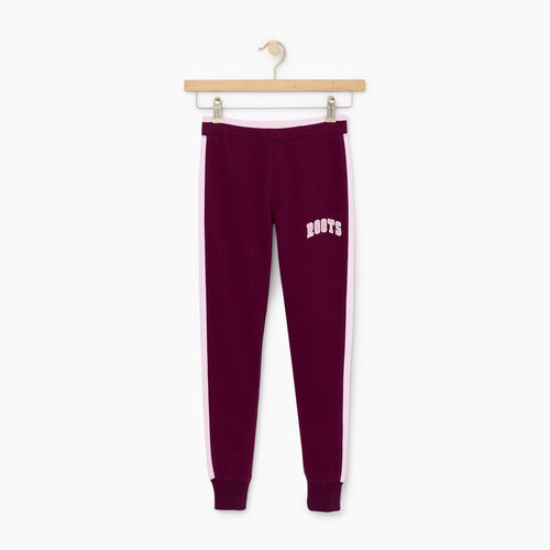 Roots-Clearance Kids-Girls 2.0 Jogger-Pickled Beet-A