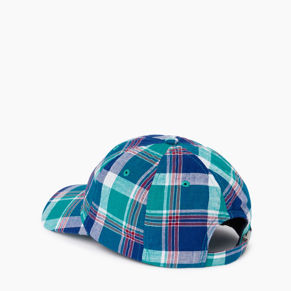 Roots-Men Our Favourite New Arrivals-Madras Baseball Cap-Multi Plaid-C