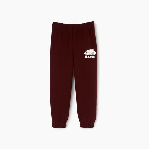 Roots-Clearance Kids-Toddler Original Sweatpant-Crimson-A