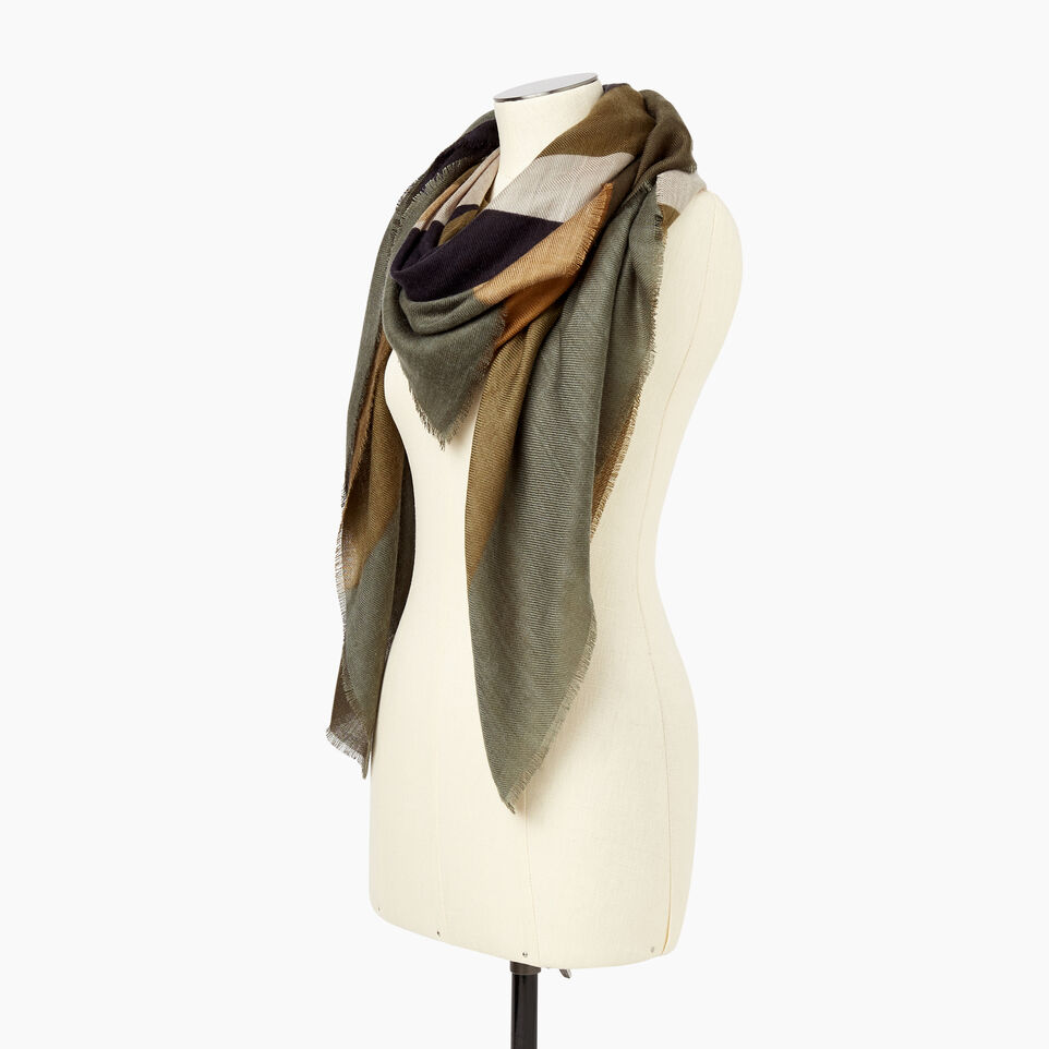 Roots-Women Categories-Wollaston Scarf-Natural-B