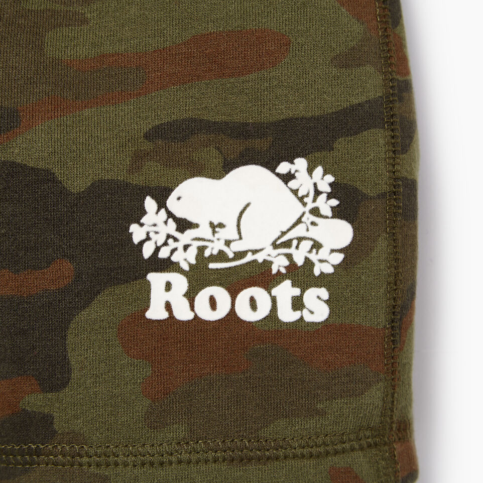 Roots-Kids Our Favourite New Arrivals-Toddler Camo Short-Winter Moss Green-C