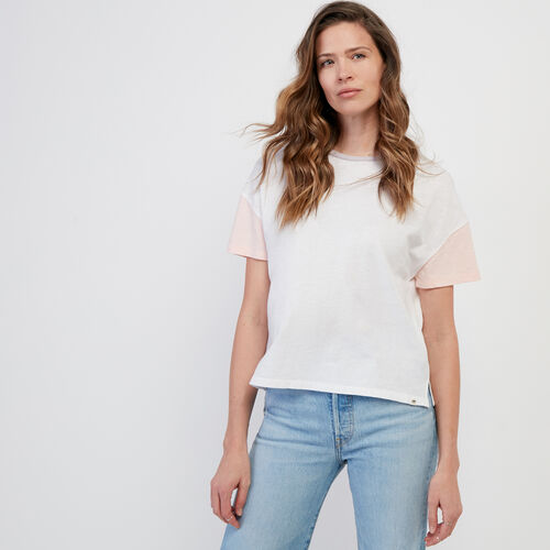 Roots-Women New Arrivals-Courtenay T-shirt-Misty Lilac-A