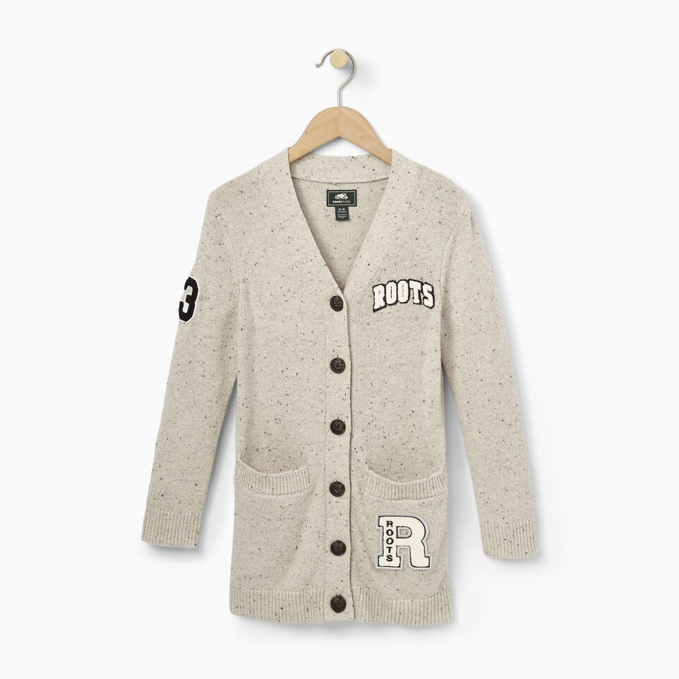 Roots-Girls Varsity Sweater Cardigan