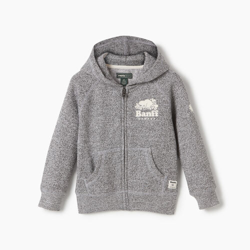 Roots-New For May City Collection-Toddler Banff Ski City Full Zip Hoody-Salt & Pepper-A