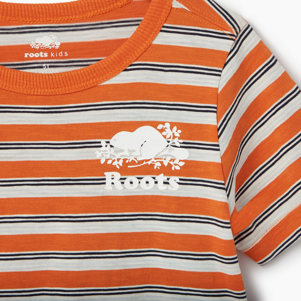 Roots-undefined-Toddler Cooper Stripe T-shirt-undefined-D