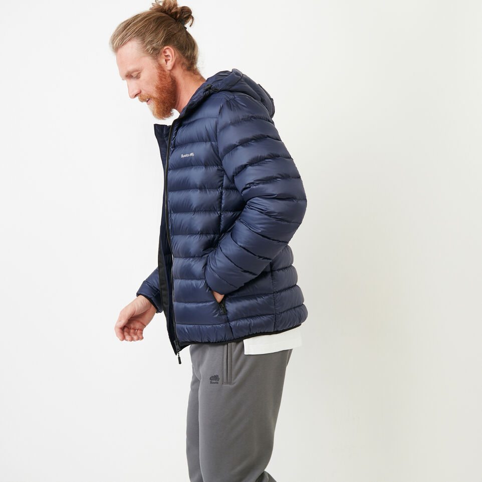 Roots-Men Our Favourite New Arrivals-Roots Packable Down Jacket-Navy Blazer-C