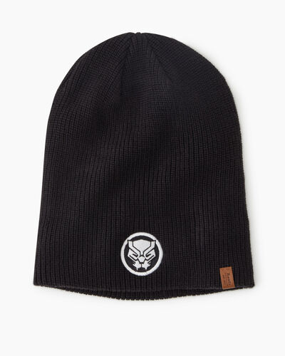 Roots-New For This Month Shop By Character-Avengers Black Panther Toque-Black-A