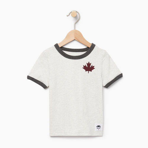Roots-Sale Kids-Toddler Canada Cabin Ringer T-shirt-Wind Chime Mix-A