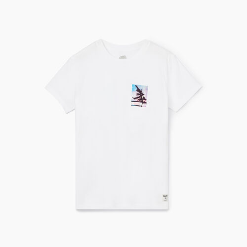 Roots-Women Graphic T-shirts-Womens Delwood T-shirt-Crisp White-A