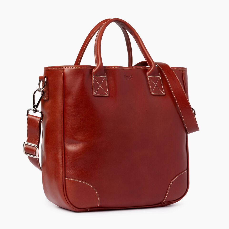 Roots-Leather  Handcrafted By Us Our Favourite New Arrivals-Jasper Tote Horween-Cognac-C