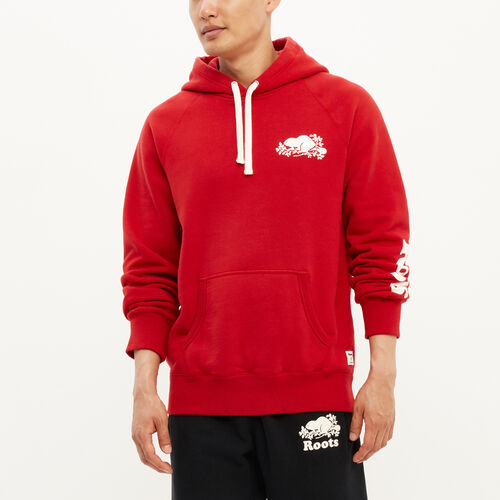 Roots-New For August Men-Remix Kanga Hoody-Haute Red-A