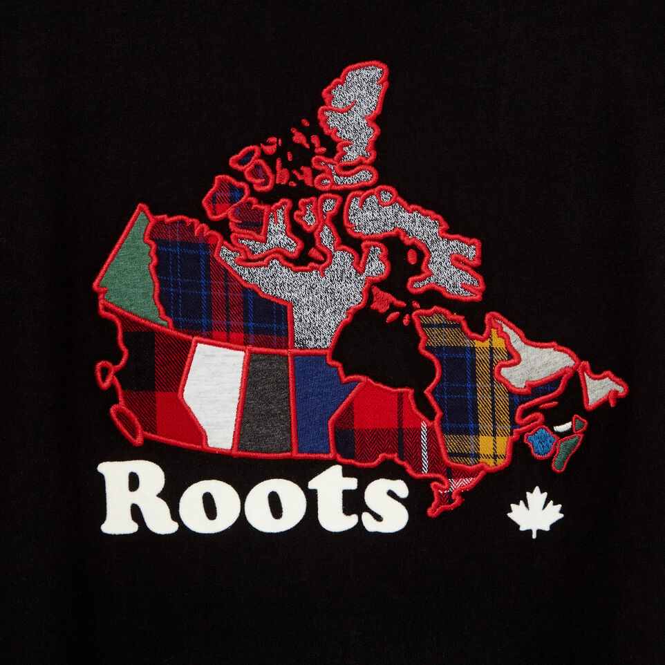 Roots-undefined-Womens Canada Plaid T-shirt-undefined-D