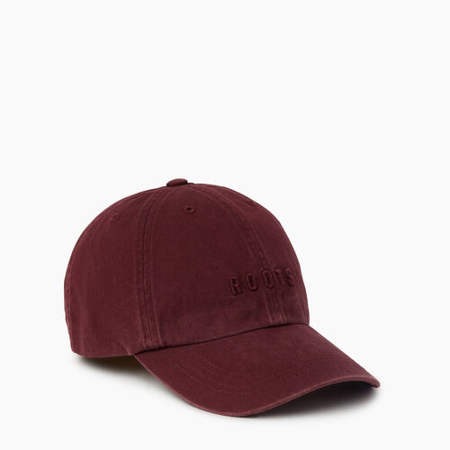 Roots-Women Accessories-Roots Classic Baseball Cap-Port Royale-A
