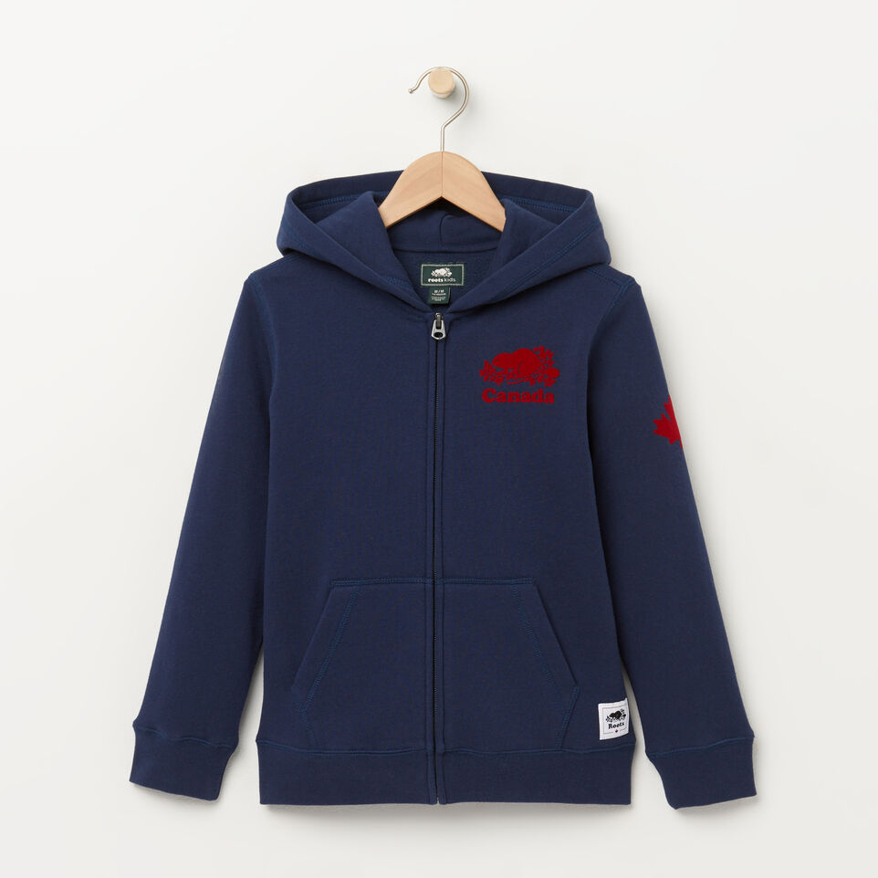 Roots-Boys Canada Full Zip Hoody
