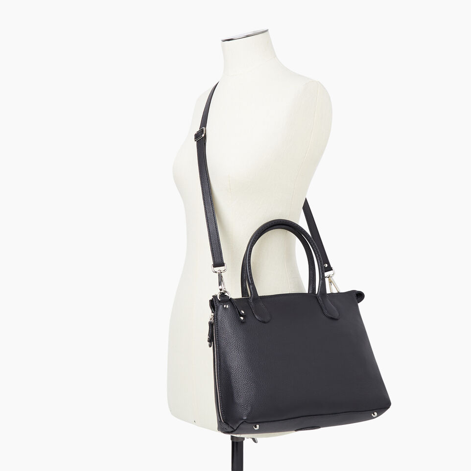 Roots-Leather New Arrivals-Arianna Bag Prince-Black-B
