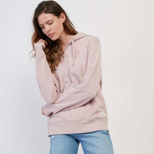 Roots-Women New Arrivals-Organic Olivia Cooper Hoody-Burnished Lilac-A