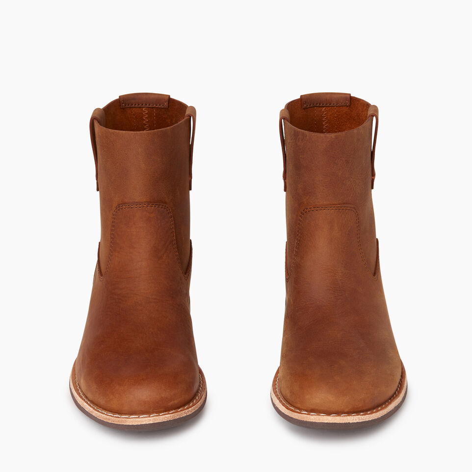 Roots-Women Categories-Womens Riverdale Shorty Boot-Natural-D