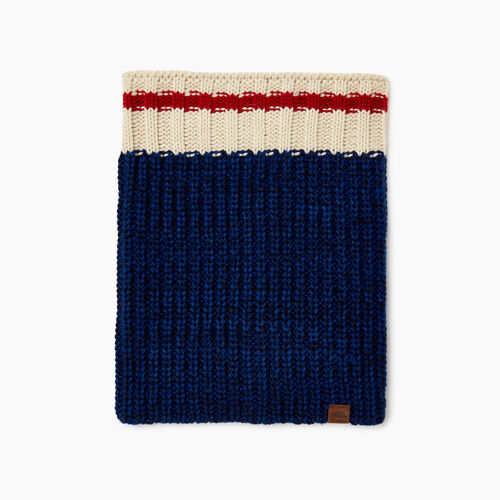 Roots-Sale Kids-Kids Cabin Snood-Navy Pepper-A