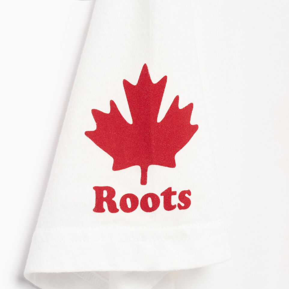 Roots-New For April Canada Collection By Roots™-Mens Cooper Canada T-shirt-Ivory-E