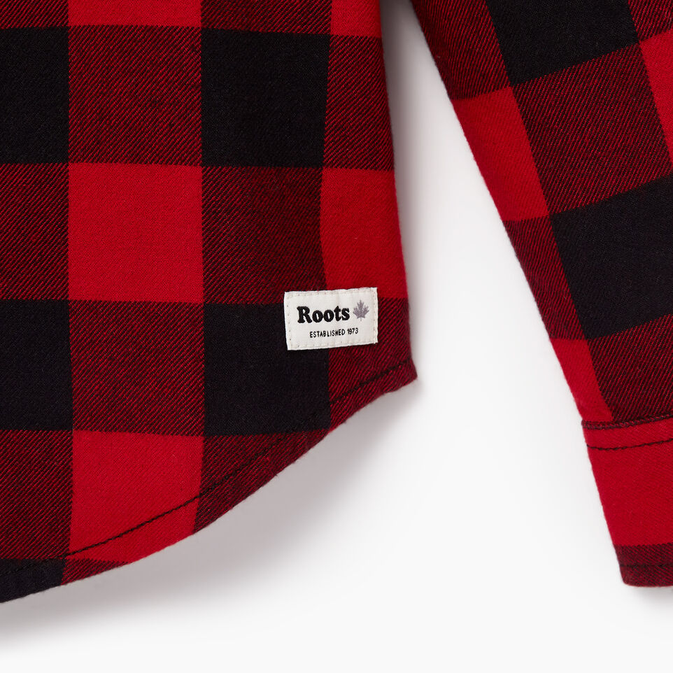 Roots-undefined-Boys Park Plaid Shirt-undefined-D