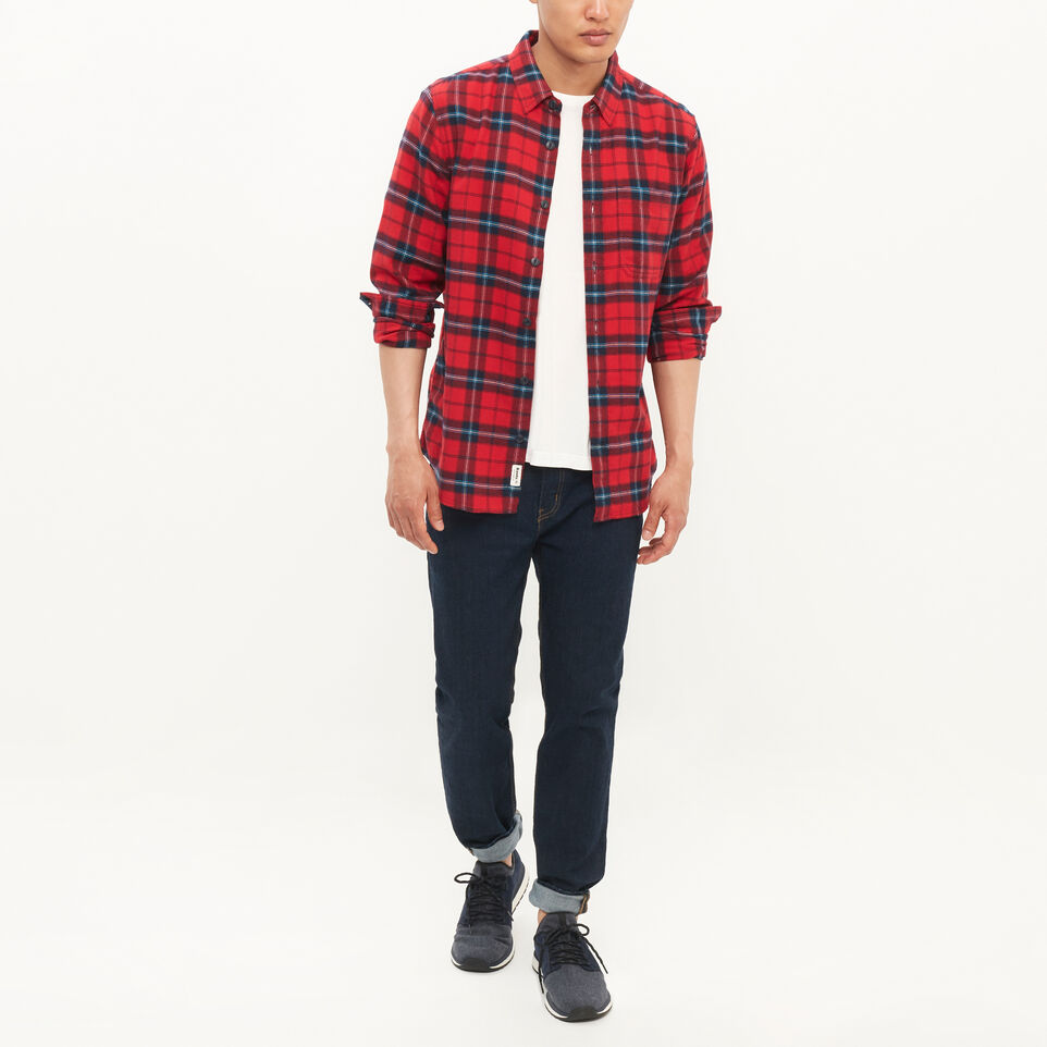Roots-undefined-Manning Flannel Shirt-undefined-B