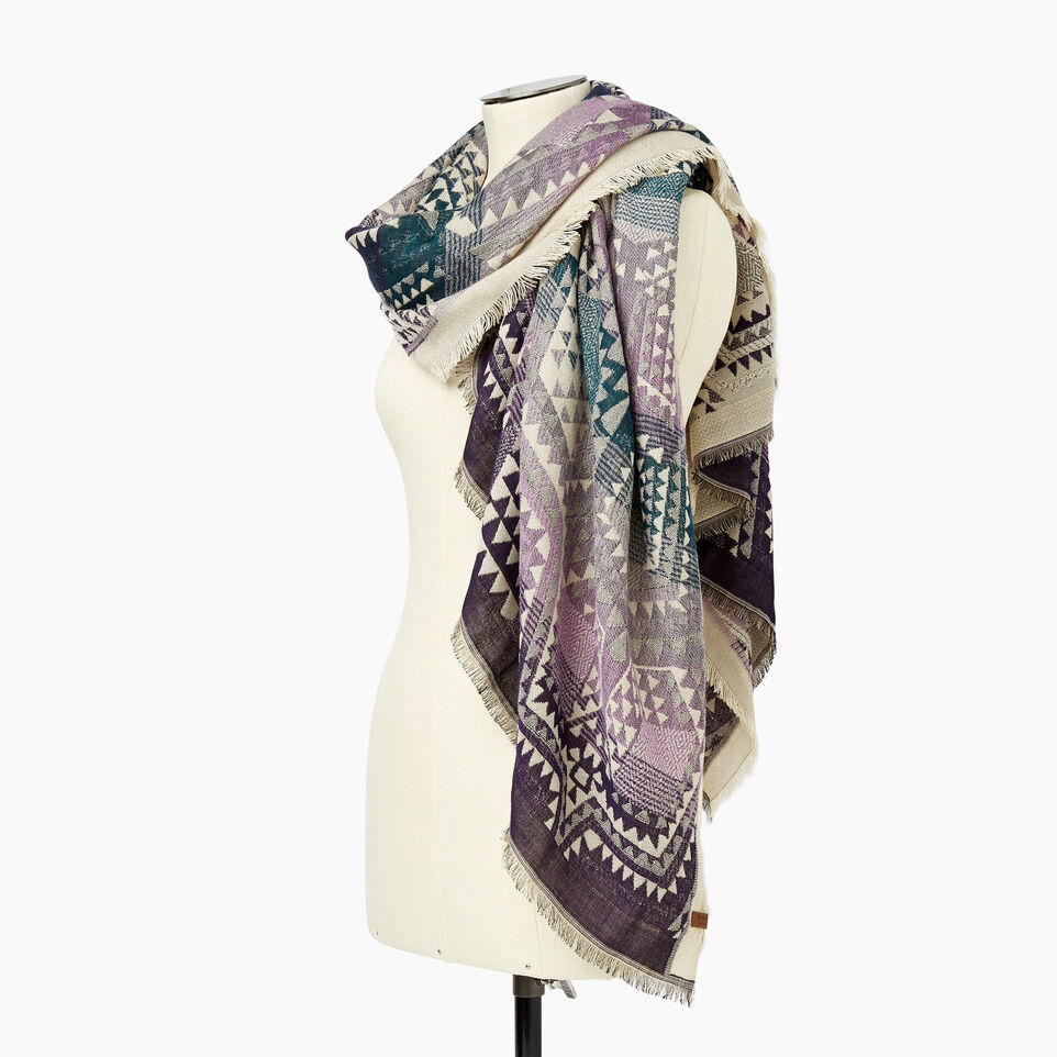 Roots-Women Categories-Mabel Scarf-Multi-C