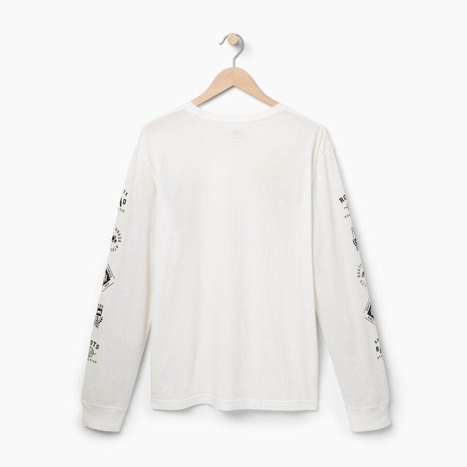 Roots-undefined-Mens Roots Diamond Long Sleeve T-shirt-undefined-B