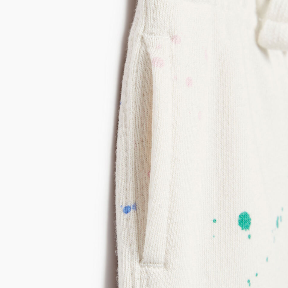 Roots-Kids Our Favourite New Arrivals-Baby Splatter Sweatpant-Cannoli Cream-D