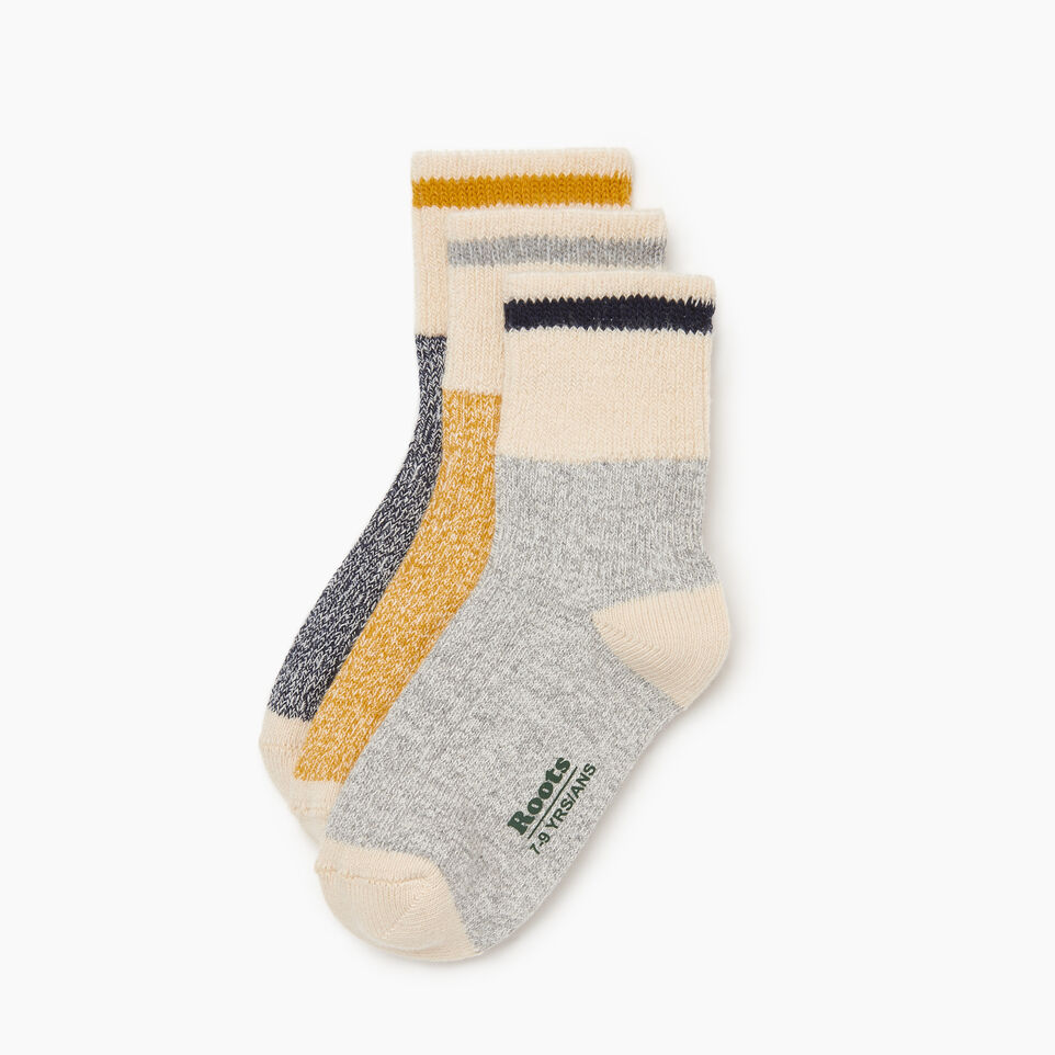 Roots-undefined-Kids Cotton Cabin Ankle Sock-undefined-B