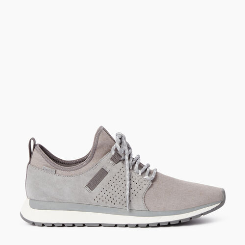Roots-Footwear Men's Footwear-Mens Rideau Low Sneaker-Grey-A
