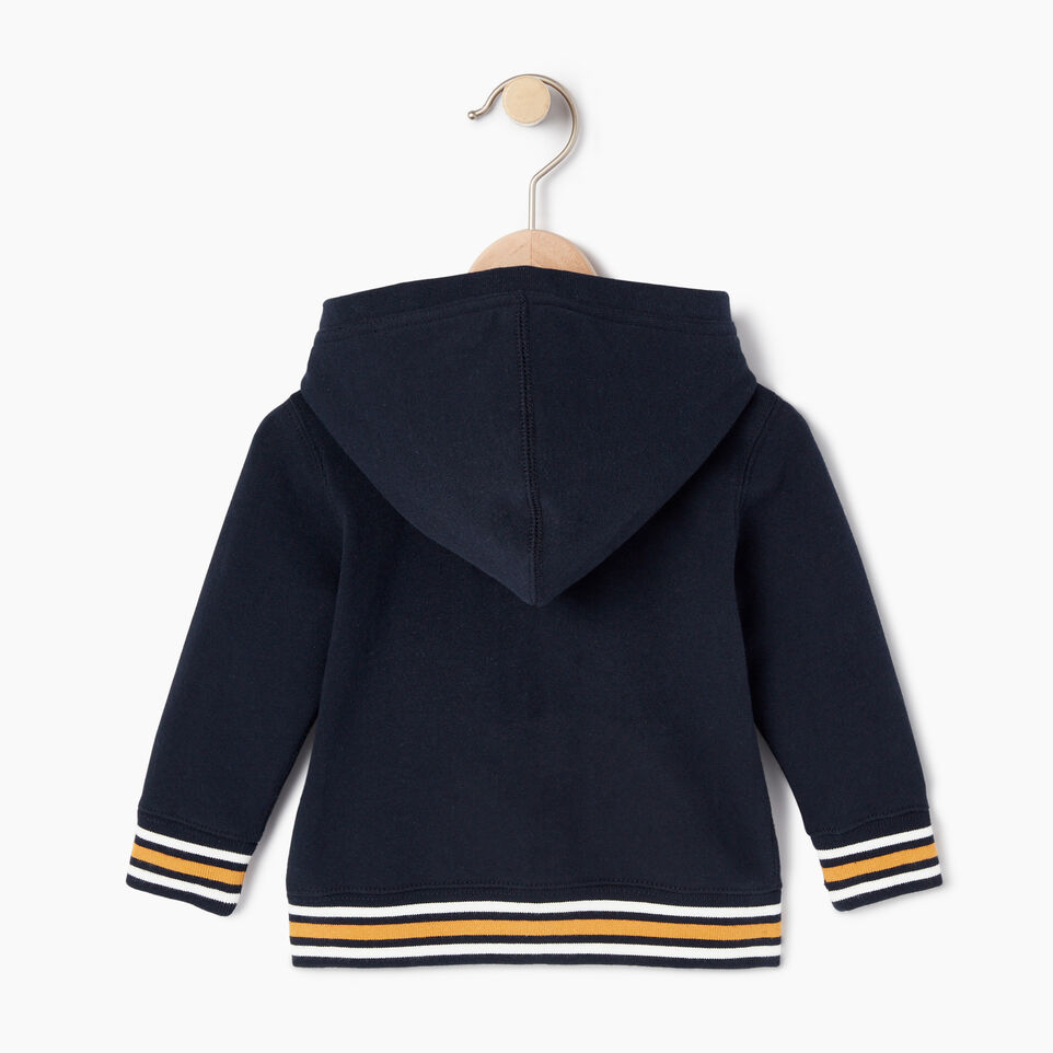 Roots-undefined-Baby Roots Varsity Full Zip Hoody-undefined-B