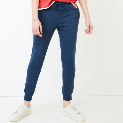 Roots-Women Sweatpants-Kelowna Sweatpant-Sargasso Sea-A
