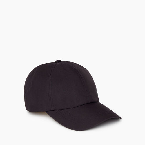 Roots-New For February Journey Collection-Journey Baseball Cap-Black-A