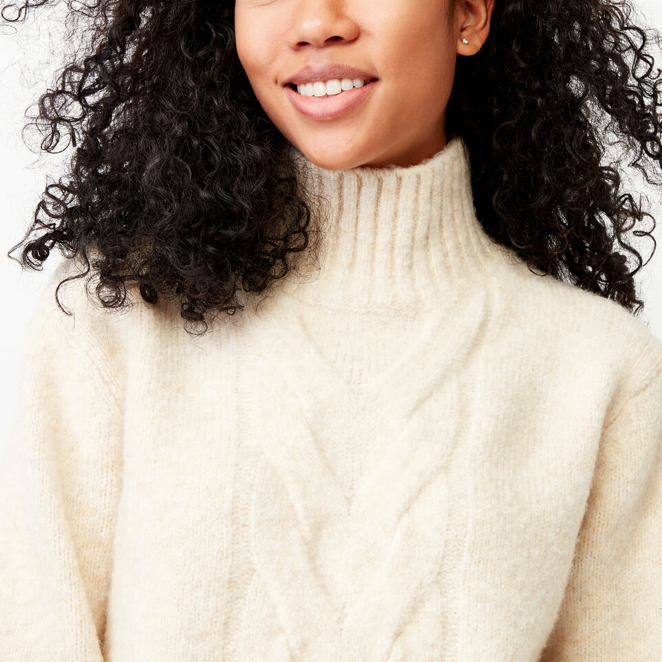 Roots-Women Our Favourite New Arrivals-Nita Cable Sweater-Light Oatmeal Mix-E