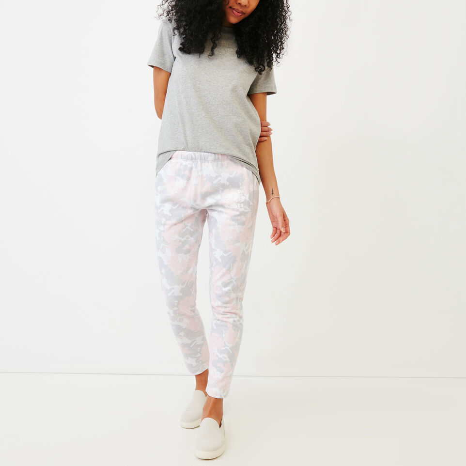 Roots-undefined-Floral Easy Ankle Sweatpant-undefined-B