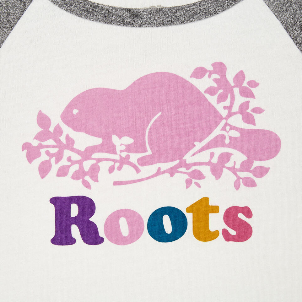 Roots-undefined-Baby Cooper Baseball Bodysuit-undefined-C