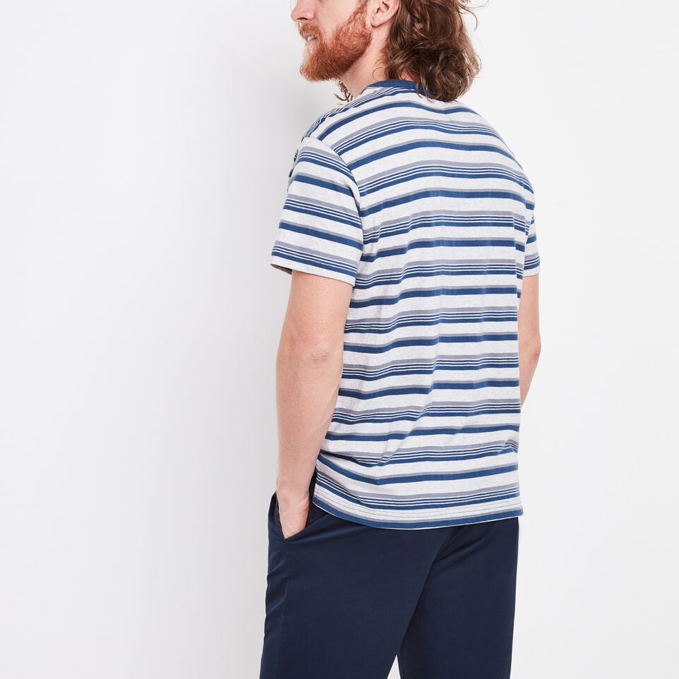 Roots-undefined-Caspian Striped Pocket T-shirt-undefined-D