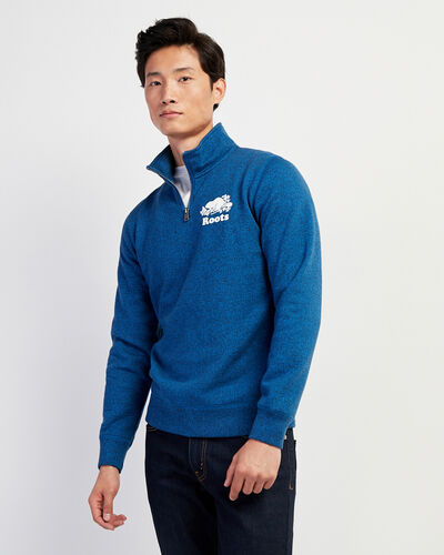 Roots-Men Sweatshirts & Hoodies-Original Zip Stein-Classic Blue Pepper-A
