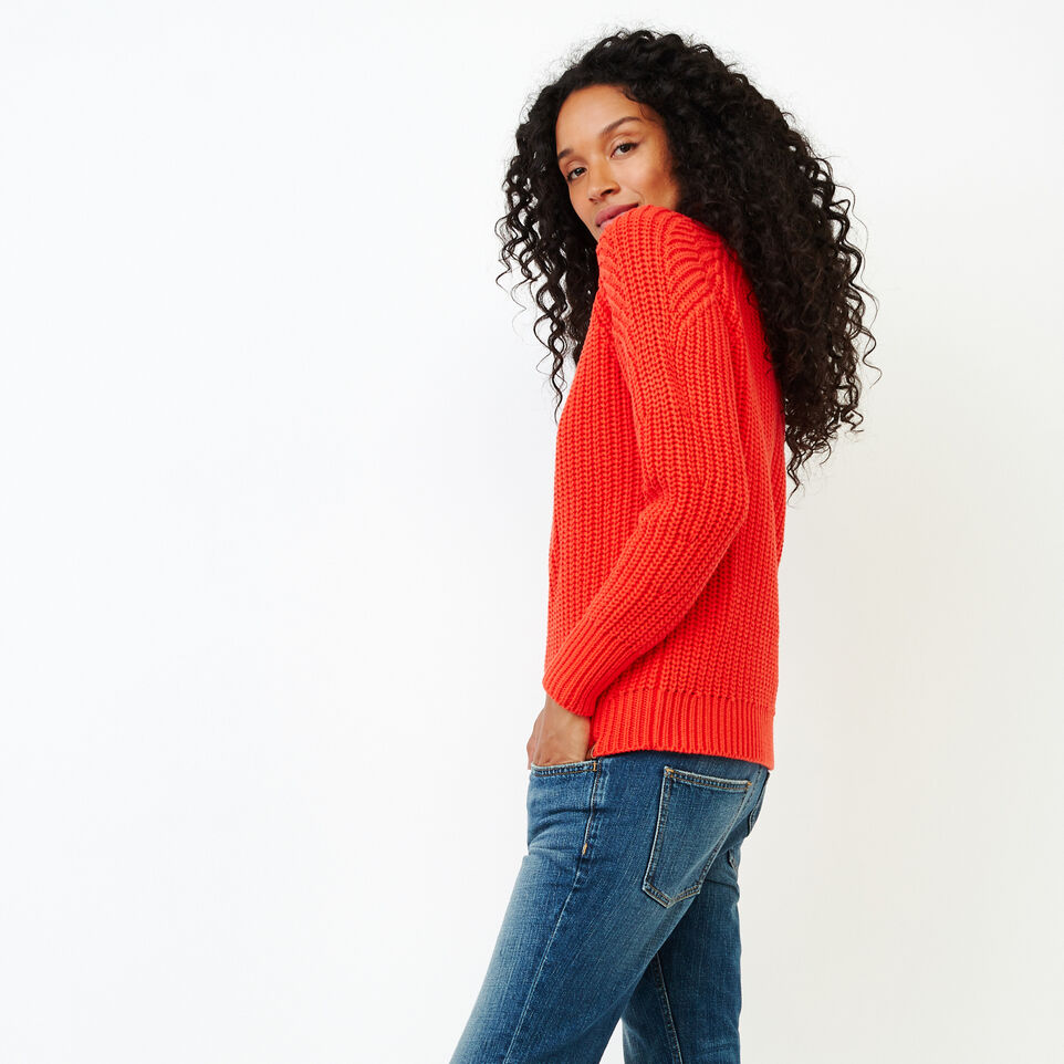 Roots-Women Sweaters & Cardigans-Ramore Sweater-Spicy Orange-C