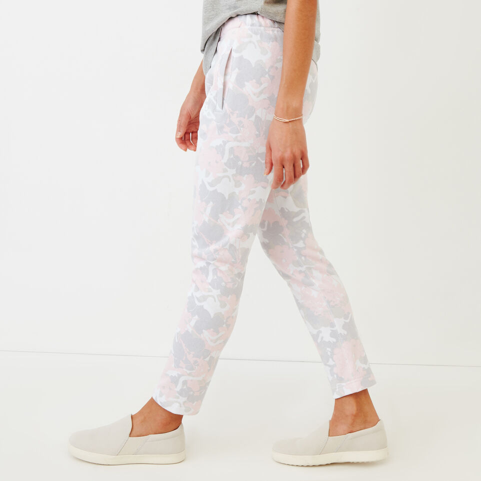Roots-undefined-Floral Easy Ankle Sweatpant-undefined-C