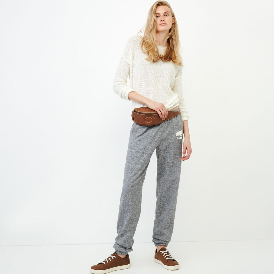Roots-undefined-Roots Salt and Pepper Original Boyfriend Sweatpant-undefined-B