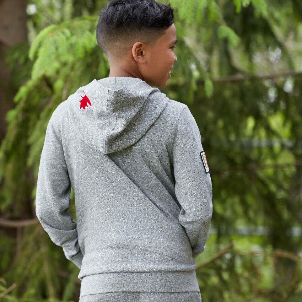 Roots-undefined-Boys Camp Patch Full Zip Hoody-undefined-B