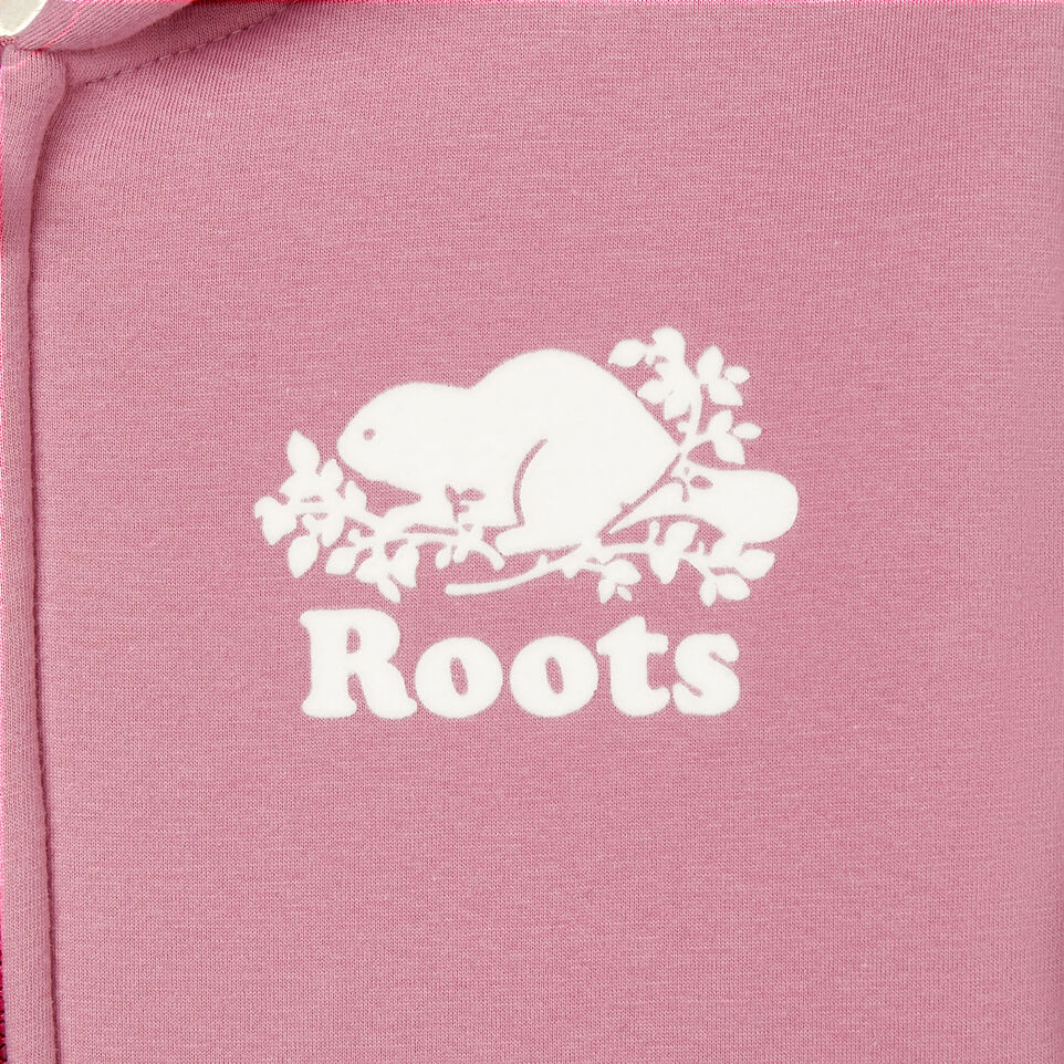 Roots-Kids New Arrivals-Girls Sherpa Lined Full Zip Hoody-Mauve Orchid-C