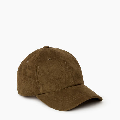 Roots-Women Categories-Alexa Baseball Cap-Green-A