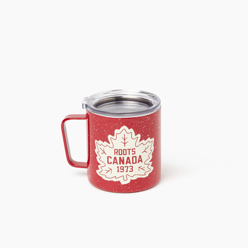 Roots-New For November General Store-Travel Mug-Cabin Red-A