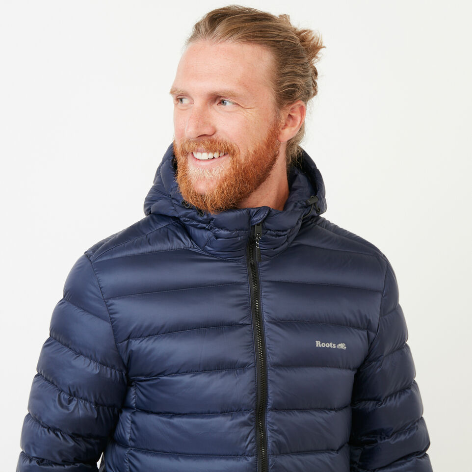 Roots-Men Our Favourite New Arrivals-Roots Packable Down Jacket-Navy Blazer-E