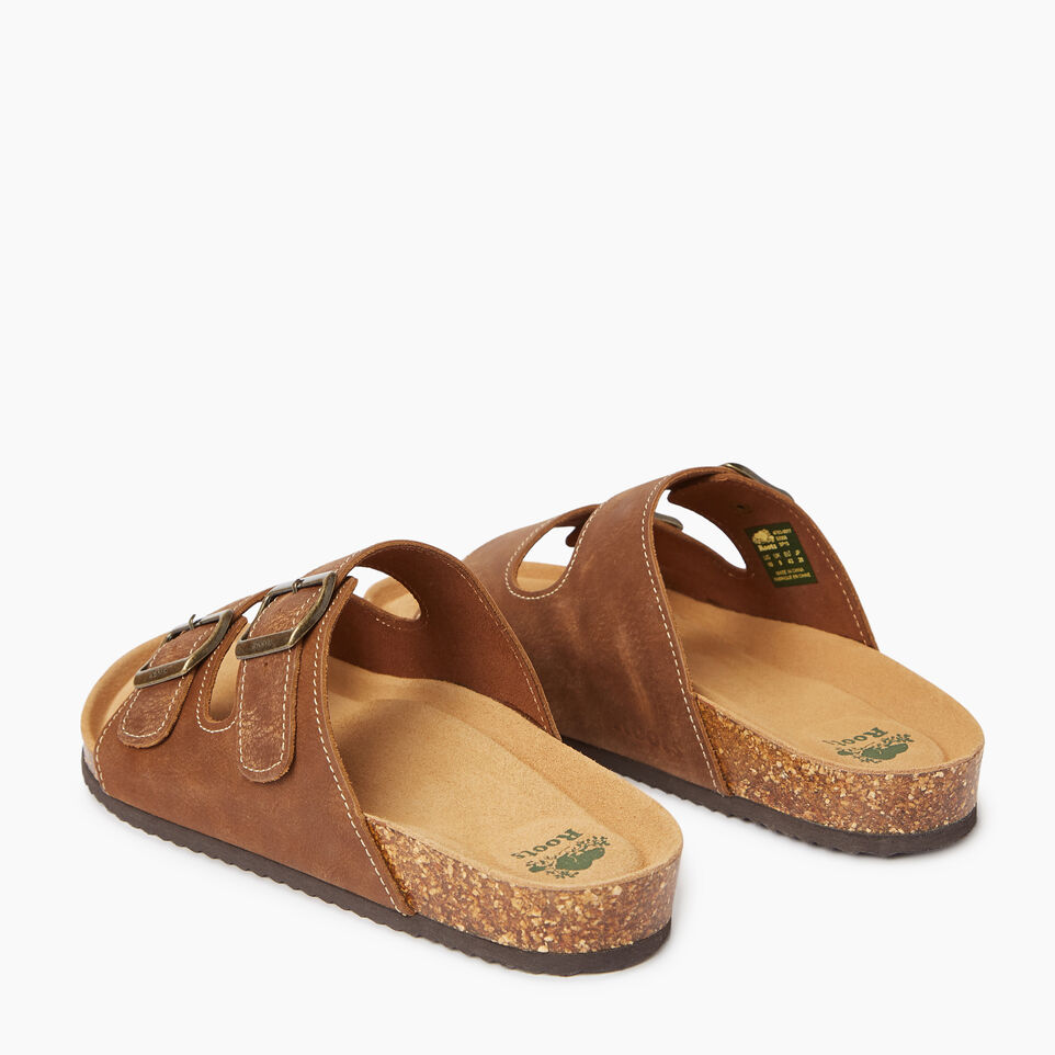 Roots-undefined-Womens Natural 2 Strap Sandal-undefined-D