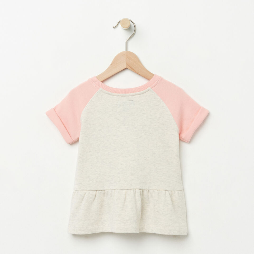 Roots-undefined-Toddler Short Sleeve Peplum Crew-undefined-B